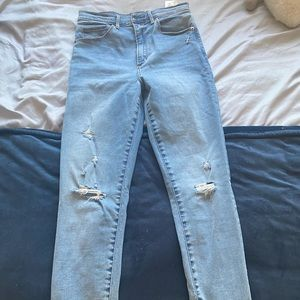 Abercrombie and Fitch Jeans *altered